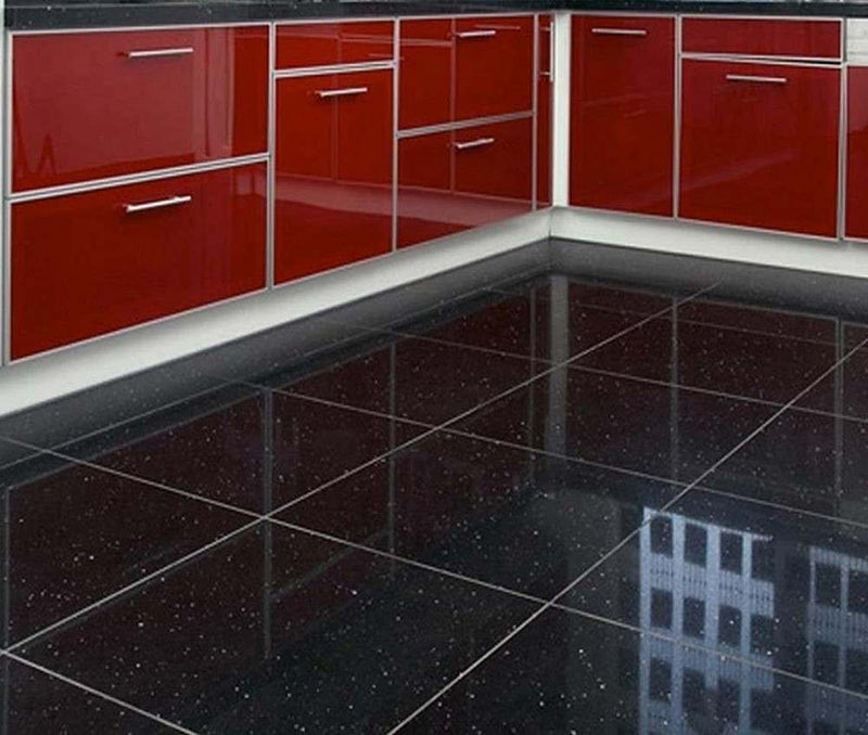 Quartz Stone Midnight Black 300x300