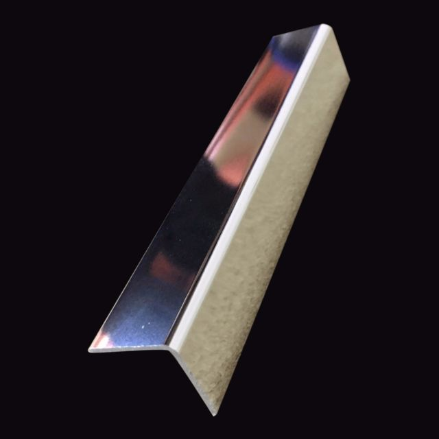 Pvc Angle Trim Chrome (2.7m Length)