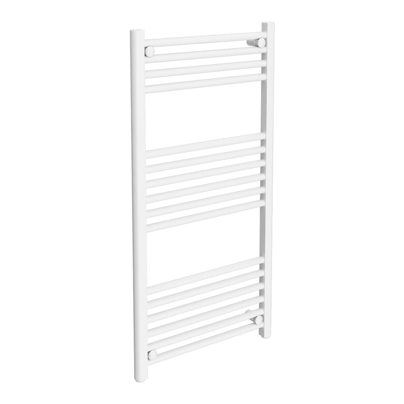 White Straight Towel Radiators
