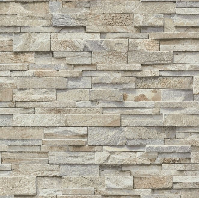 Colemans Stone Pattern Wallpaper Sample Nr. 02363-10