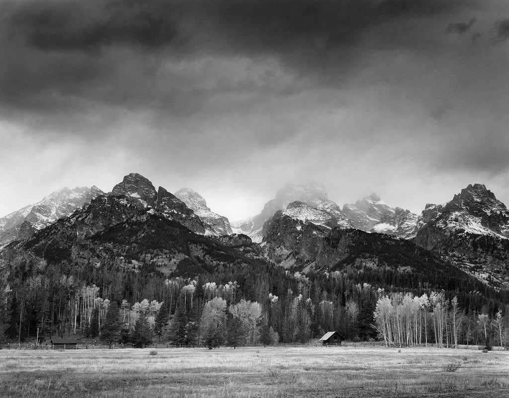 Shop Cabin, Grand Tetons by Alan Ross - Ansel Adams Gallery