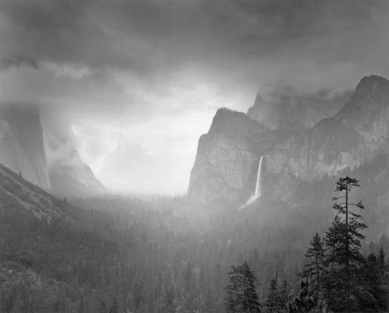 Shop Spring Rain, Yosemite by Alan Ross - Ansel Adams Gallery