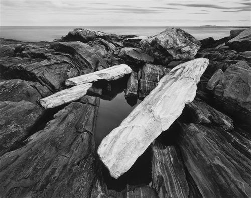 Rock Shoreline, Pemaquid Point, Maine