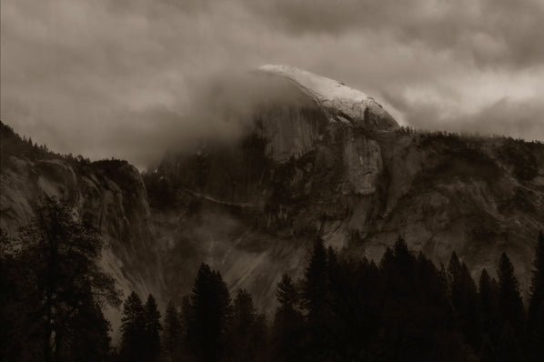 Light on the Back of Half Dome, Yosemite