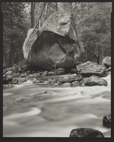 Large Rock, Merced River, 2003