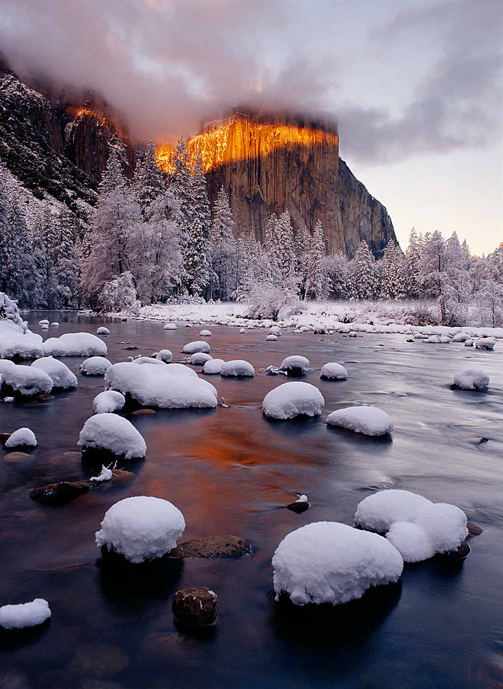 Band of Light on El Capitan, Yosemite National Park