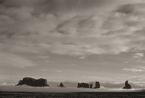 Morning Fog, Monument Valley, 2004