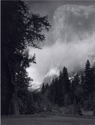 El Capitan, Winter Sunrise - Loose Print