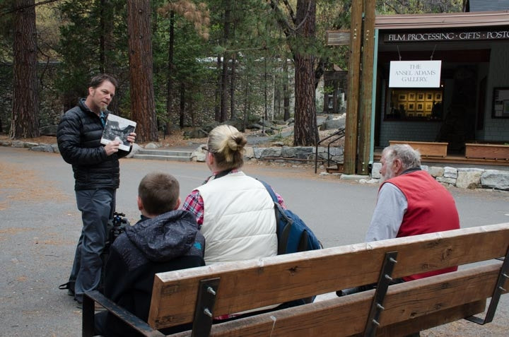 In the Footsteps of Ansel Adams - Tues & Sat 1 PM