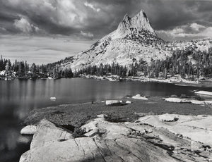 Cathedral Peak and Lake