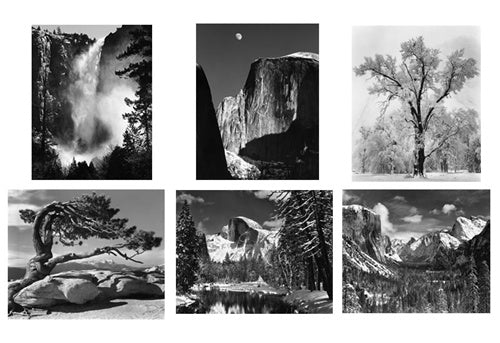 Complete Set of 25 Yosemite Special Edition Photographs