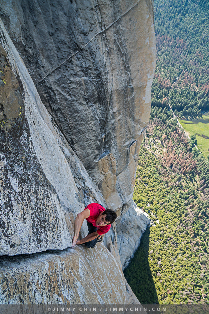 Alex Honnold on Freerider
