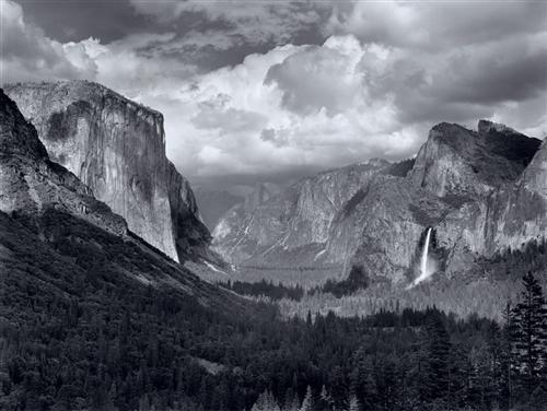 In the Footsteps of Ansel Adams (Yosemite Valley)