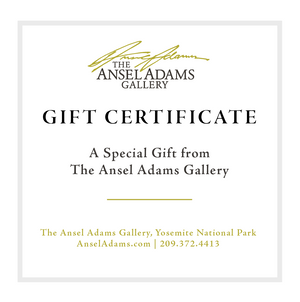 Ansel Adams Gallery Gift Card