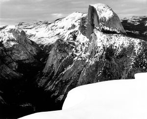 Half Dome in Winter, YNP 1999