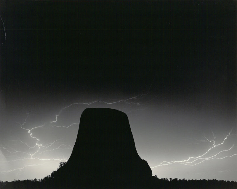 Lightning, Devil's Tower