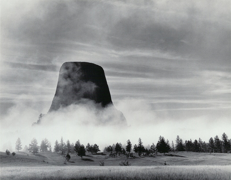 Rising Fog - Devil's Tower, WY 1988