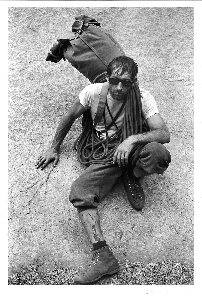 Royal Robbins after the First Ascent of Tis-sa-ack
