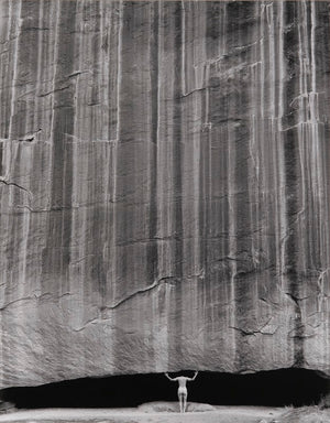 Sharon, Cliff Wall, Colorado by Bob Kolbrener - Ansel Adams Gallery