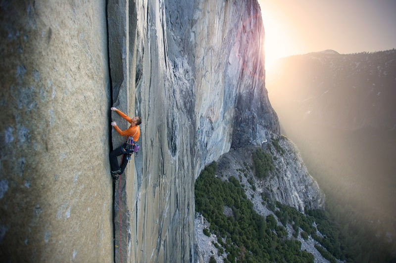 Tommy Caldwell on Mescalito, El Capitan