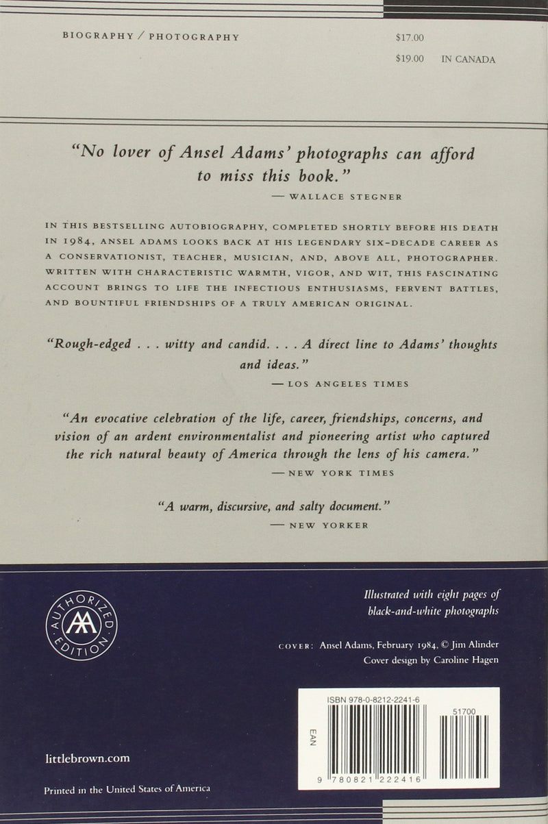 Ansel Adams: An Autobiography Paperback