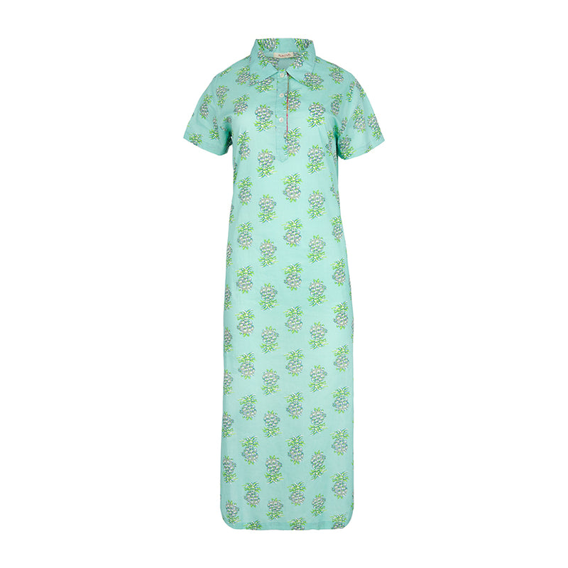 NIKI DRESS VERDE POOL