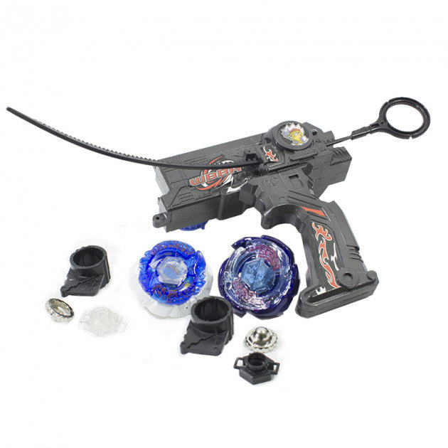 Copy of Rapidity - Dual beyblade luncher sæt sort 3