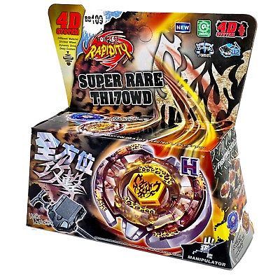 Rapidity - Super Rare Th170WD beyblade pakke