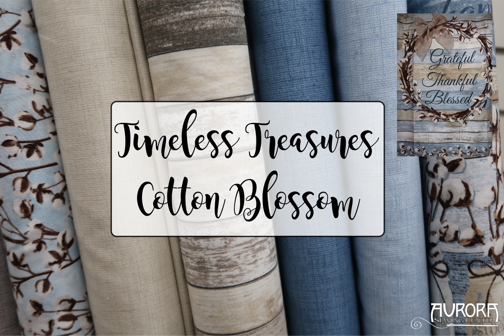 Timeless Treasures - Cotton Blossom