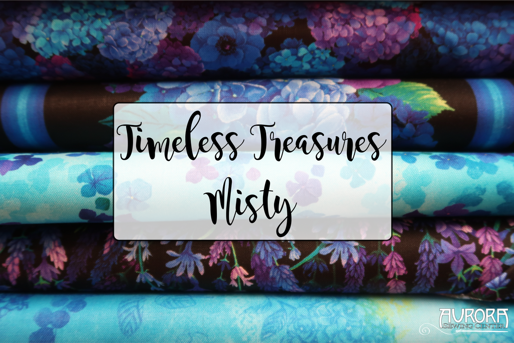 Timeless Treasures - Misty