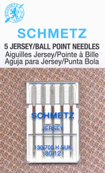 Schmetz Jersey/Ball Point 80/12 5PK