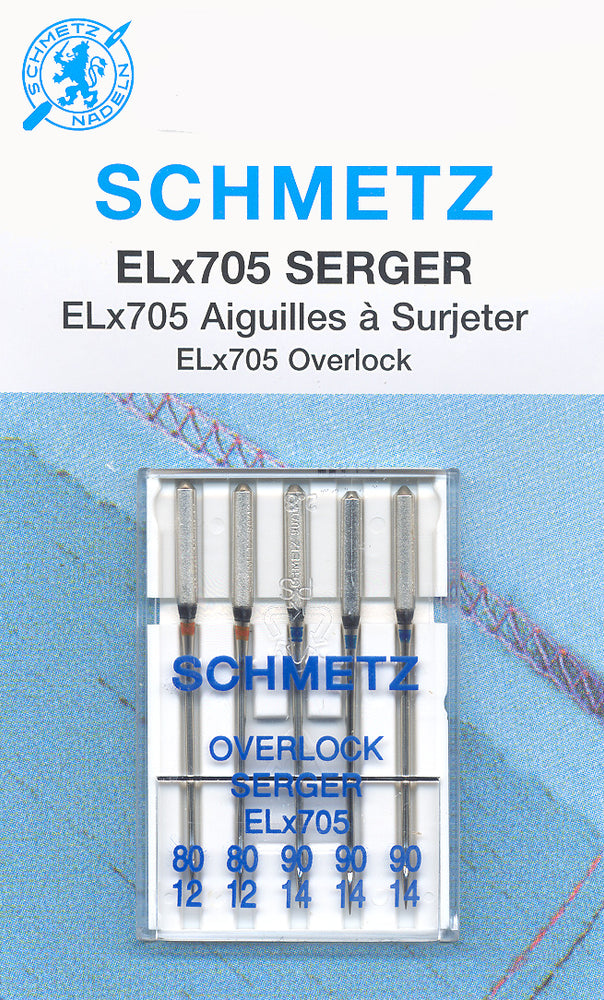 Schmetz Serger Needle Assorted 5PK