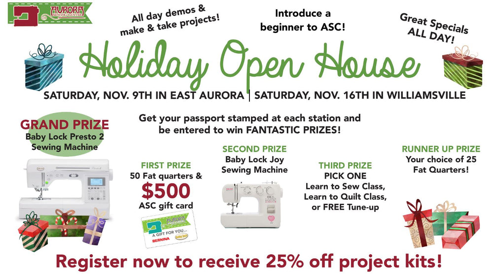 HOLIDAY OPEN HOUSE - EAST AURORA