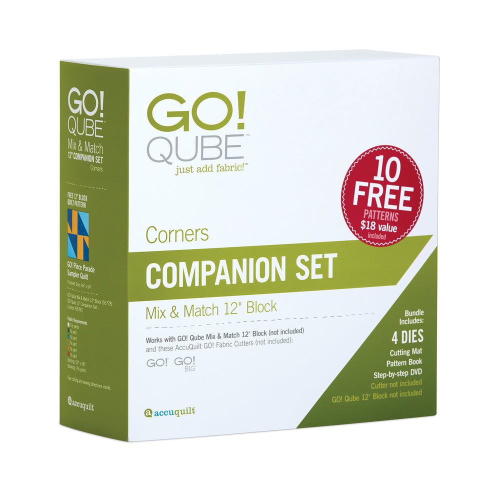 "AccuQuilt GO! Qube 12"" Companion Set Corners"