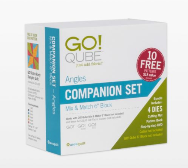 "AccuQuilt GO! Qube 6"" Companion Set Angles"