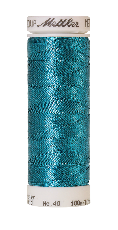 Mettler Metallic Teal 4101