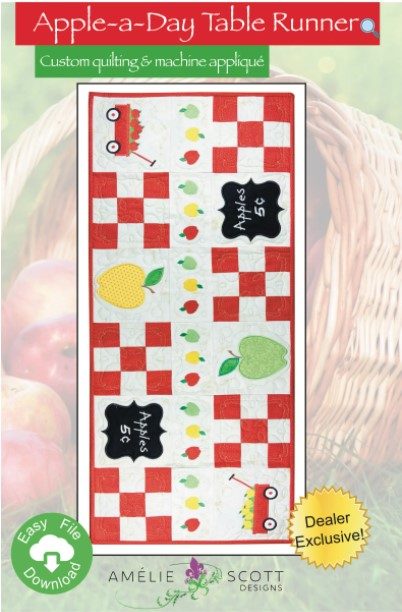 Apple-a-Day Table Runner