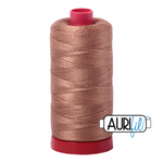 Aurifil 12 Wt Cotton Thread Cafe au Lait 2340