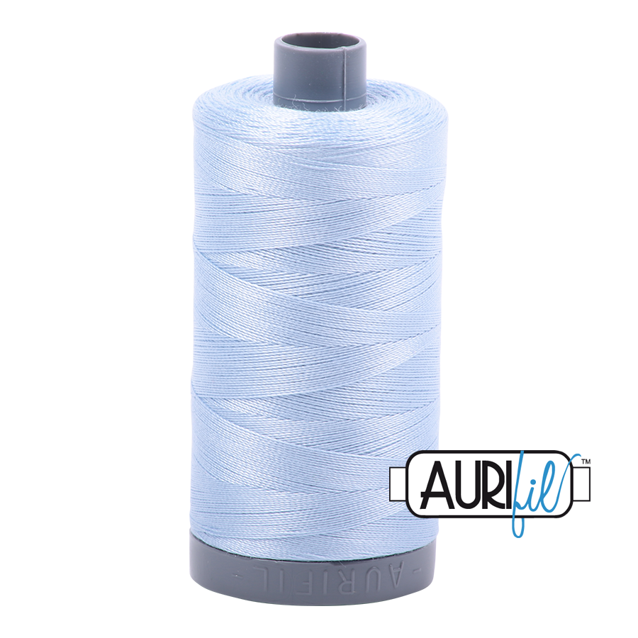 Aurifil 28 Wt Cotton Thread Light Robbins Egg 2710