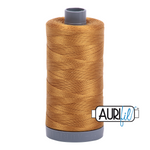 Aurifil 28 Wt Cotton Thread Brass 2975