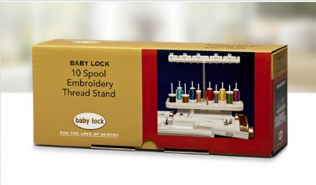 Baby Lock 10-Spool Embroidery Thread Stand- BLMA-TS