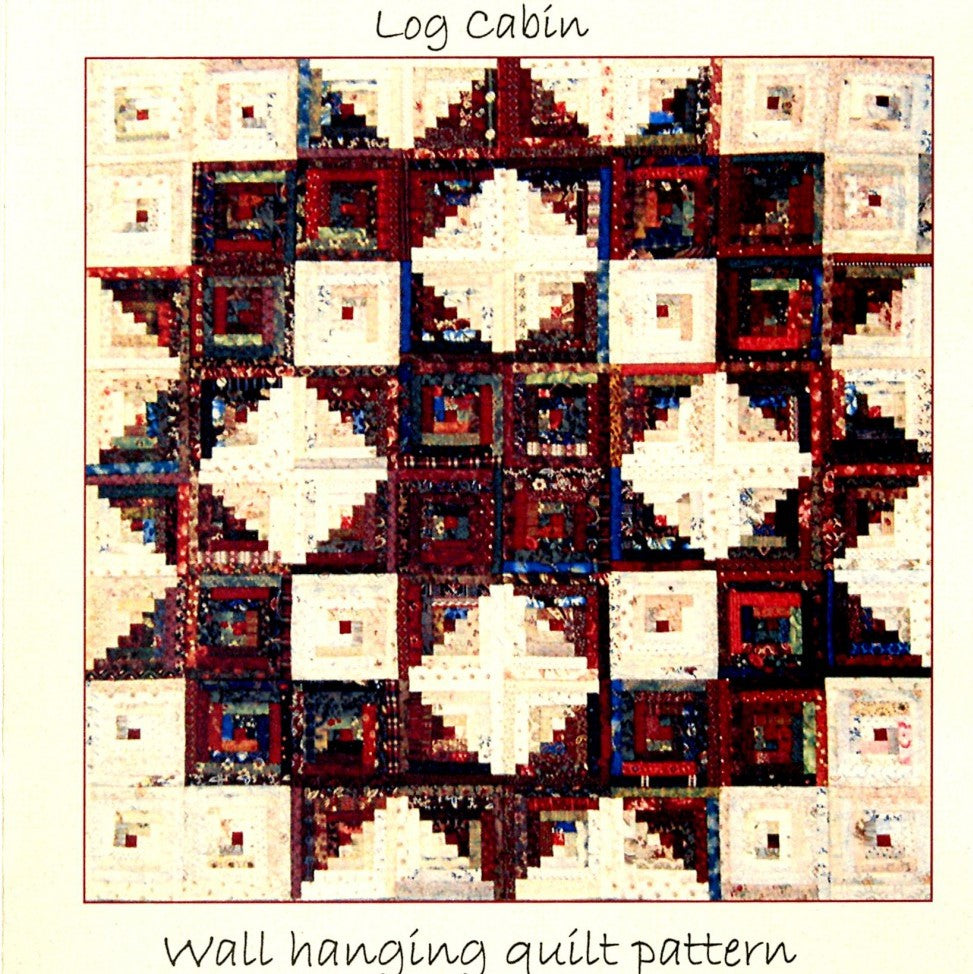 Log Cabin Broken Star Quilt - East Aurora