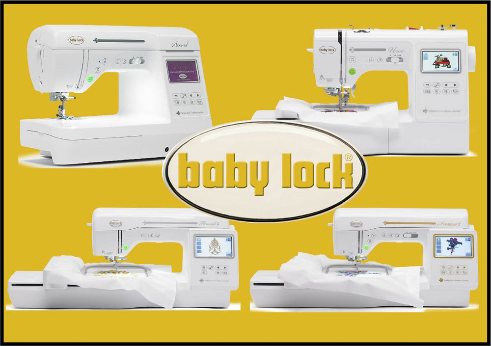 Zoom- Baby Lock EMBROIDERY Guide Class