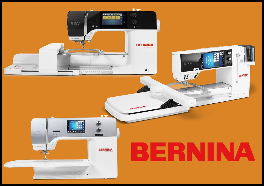 Zoom- Bernina 5/7/8 Series SEWING Guide Class