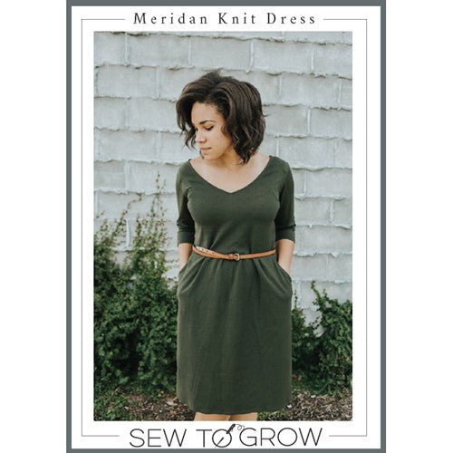 Meridan Knit Dress - Williamsville
