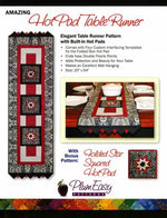 Folded Star Hot Pad Runner - East Aurora