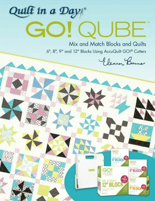 AccuQuilt GO! Qube Book By Eleanor Burns