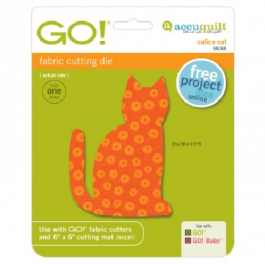 AccuQuilt GO! Calico Cat Die