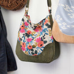 Sallie Tomato Holly Hobo Bag - East Aurora