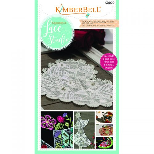 Kimberbell Lace Studio Holidays and Seasons Volume 1 Embroidery CD